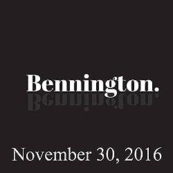Bennington, November 30, 2016