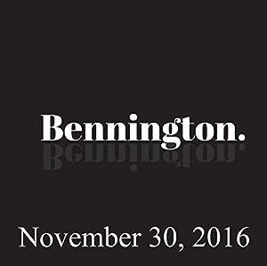 Bennington, November 30, 2016 Radio/TV Program