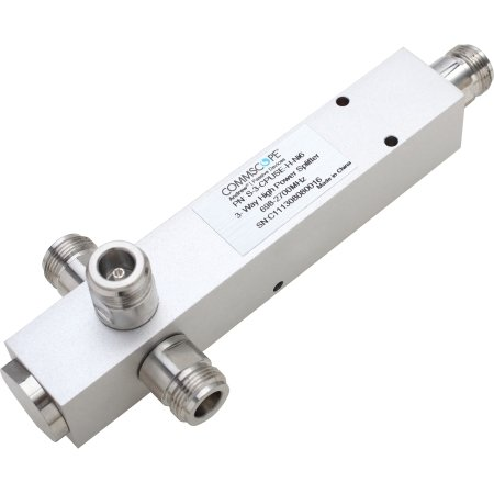 CommScope - S-3-TCPUSE-H-NI6 - 340-2700 3-way reactive power divider. N/F term. by Commscope (Image #1)