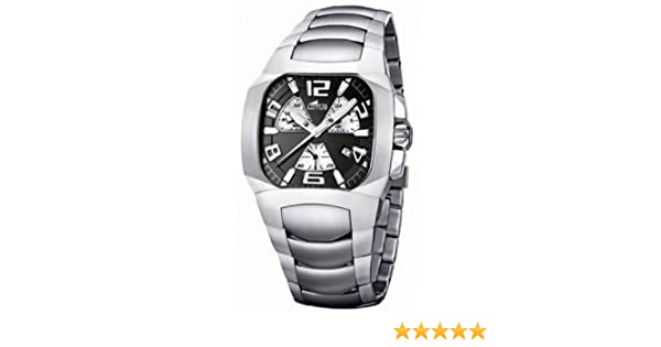 Amazon.com: Lotus - Mens Watches - Lotus Code - Ref. 15501/4: Lotus: Watches