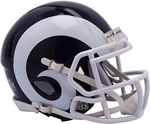 Riddell Los Angeles Rams Revolution Speed Mini Football Helmet - NFL Mini Helmets