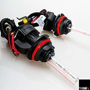MK - 55 W 12 V 9007 90079007 6000 K xenón Hi/lo turborreactores ocuité bombillas de repuesto para proyectores