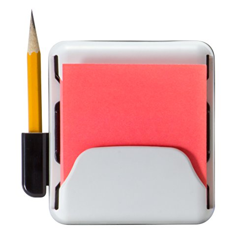 Officemate Magnet Plus Magnetic Pop-Up Note Dispenser, White (92546)