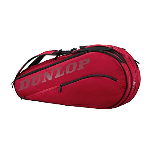 DUNLOP CX Team 8 Racket Thermo Tennis Bag (Red)