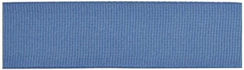 Kel-Toy Polyester Grosgrain Ribbon, 7/8-Inch by 25-Yard, Antique Blue