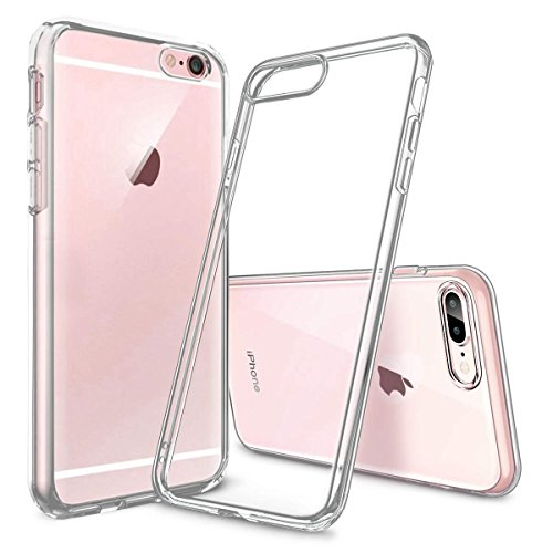 NONZERS Case for iPhone 6/6S - Transparent Case ,Non-slip TPU Protective Cover,Dust Proof,Ultra Clear Shockproof Protective Case for iPhone 6,Ultra Slim Lightweight Soft Gel TPU Case (Transparent)