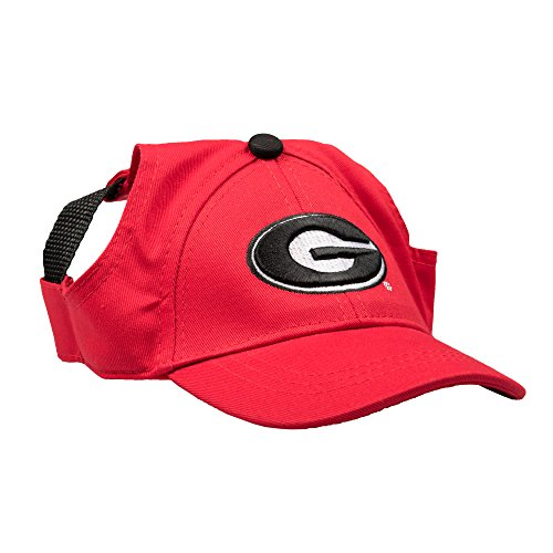 NCAA Georgia Bulldogs Pet Baseball Hat, XL