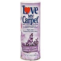 LOVE MY CARPET 2-in-1 Carpet & Room Deodorizer (Lavender Dreams, 12-PACK)