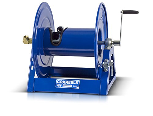Commercial Hose Reel - Coxreels 1125-4-100 Steel Hand Crank Hose Reel, 1/2