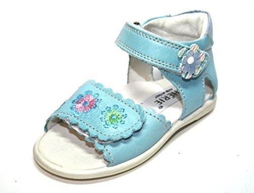 Cherie enfant bébé fille sandales 0305, bleu clair, 20 (sans emballage)