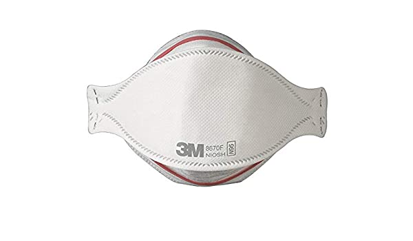 Pandemic N95 Protection 3m Influenza 8670f Flu Masks Respirator