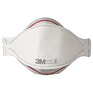 3M 8670F N95 Respirator Masks, Pandemic Influenza Flu Protection, Box of 20