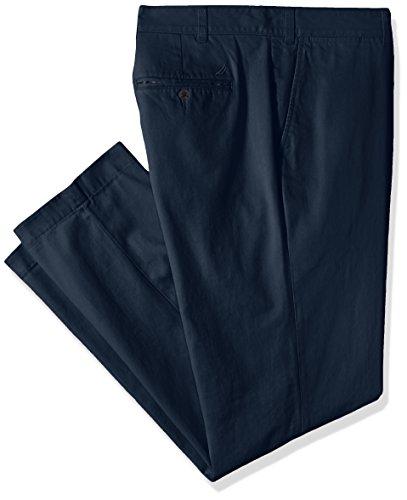 Nautica Men's Big and Tall Twill Flat-Front Pant, True Navy D83050 50W x 30L