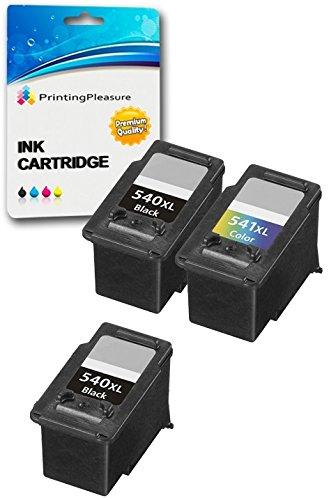3 XL Cartuchos de Tinta compatibles para Canon Pixma MG4250 MG4150 MG3650 MG3550 MG3250 MG3150 MG2250 MG2150 MX455 MX475 MX515 MX525 MX535 MX375 MX395 ...