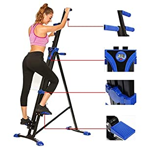 Steel-Alloy-Stair-Climber-Machine-Home-Gym-Exercise-Folding-Climbing-MachineVertical-Climbing-Exercise-Machine-Fitness-Stepper-Gym-Whole-Body-Cardio-Workout-Training