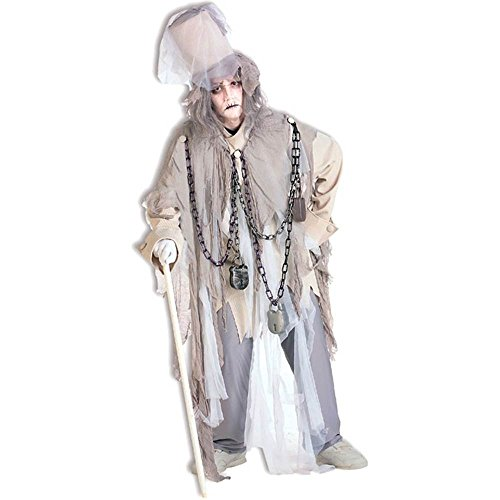 [Jacob Marley Costume - Standard - Chest Size up to 42] (Jacob Marley Costume Child)
