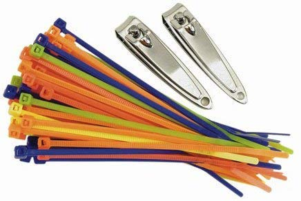 Travelon Travel Accessories Secure-A-Bag Cable Ties - Multi-Color by Travelon (Image #1)