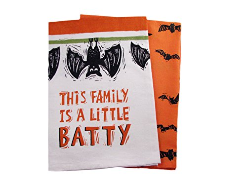 (Halloween Dish Towel Set - This Family Is A Little)