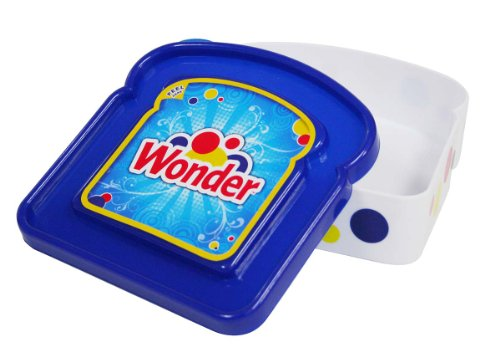 Wonder Bread Sandwich Container, Colors May Vary from Evriholder
