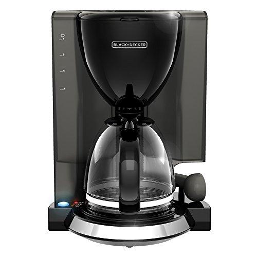 Black + Decker cm4500bd fácil Cafetera, 8tazas), color negro