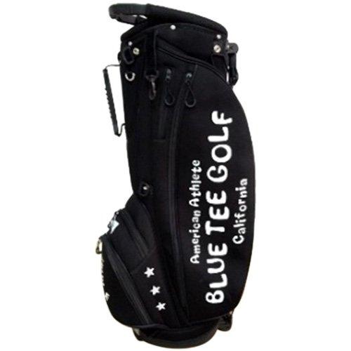 過半数遡るローズ[ブルーティーゴルフ] ストレッチ スタンド キャディバック ブラック BTG-CB-003