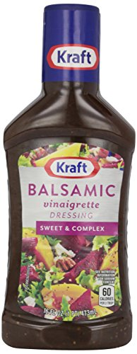 Kraft Dressing, Balsamic Vinaigrette, 16 oz
