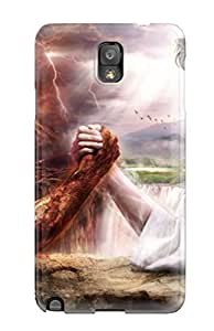 Premium Phone Case For Galaxy Note 3/ Satan Jesus Tpu Case Cover