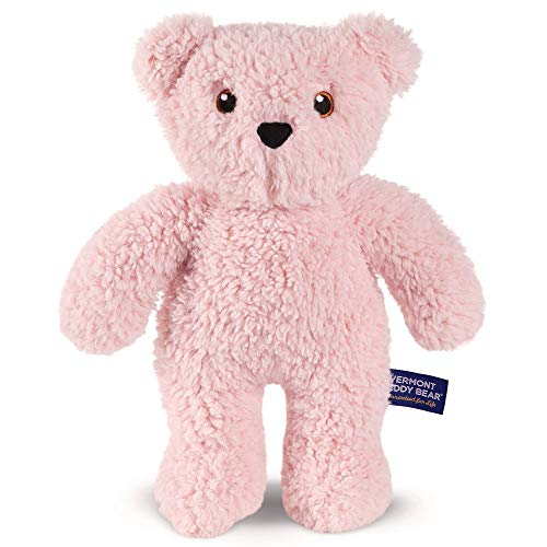 Vermont Teddy Bear - Teddy Bear for Kids, Plush Animal, 14 inches, Pink