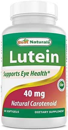 Best Naturals Lutein 40 mg 60 Softgels