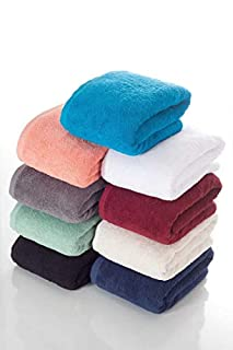 """THIRSTY 100% Non-GMO Turkish Cotton Bath Sheet, Extra Long 40""""x80"""", Towels, 670 GSM Weight. (B01G47MHF8) 
