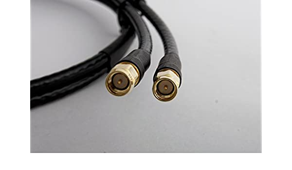 Bidatong - Cable coaxial twin 10 M TWIN-50155-LTE: Amazon.es: Electrónica