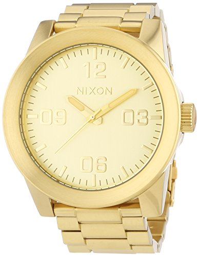 nixon-gold-dial-stainless-steel-quartz-mens-watch-a346-502