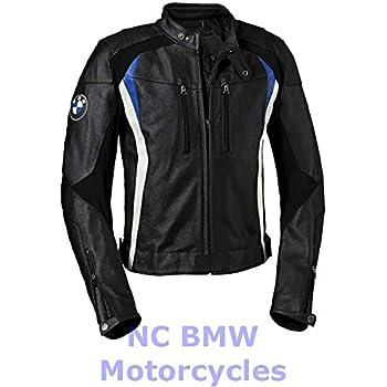 BMW Genuine Motorrad Motorcycle DoubleR Jacket Black White Blue Size 54