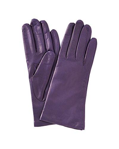 Portolano Womens Basic Violet Cashmere Lined Gloves, 6.5 - Portolano Cashmere