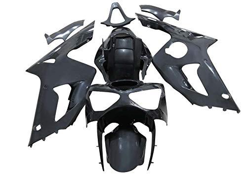 (Sportbike Deals AZDK302BCK Body Kit (Kawasaki Zx-6R 2003-2004, Abs Plastic Painted Black))