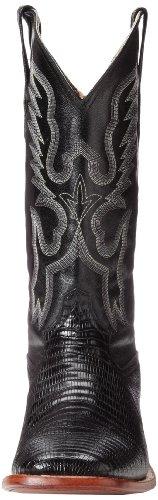 S Teju Black Western Boot Men's Ferrini Lizard Toe q15an8wt0