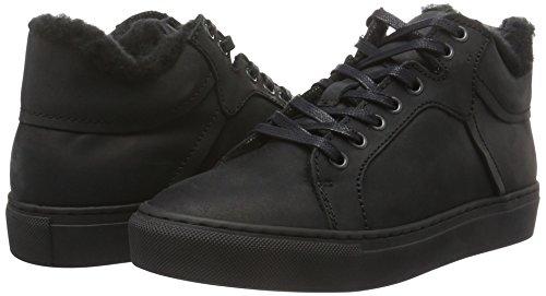 48822 Neige 33 33 Wool black Bianco Noir Femme De Bottes Sneaker 10 Boot Eu cwIHcRxqA0