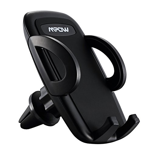 Mpow Car Phone Mount,Air Vent Phone Holder for Car with Adjustable Car Phone Holder for iPhone 8/8Plus/7/7Plus/6s/6Plus/5S, Galaxy S5/S6/S7/S8, Google Nexus, LG, Huawei and More