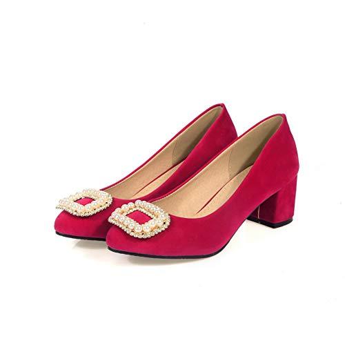 BalaMasa Femme 36 APL10452 Compensées Red Sandales 5 Rouge tSPRrqtw