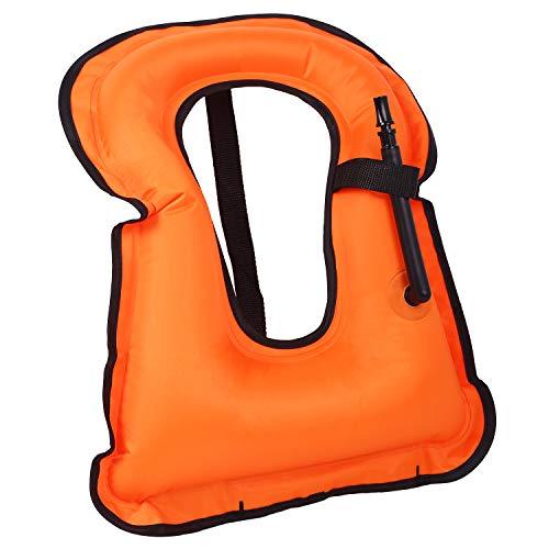 chfine Child Swim Vest Inflatable Life Jacket Swim Jacket for Boys Girls,Swimming Life Vest for Kids ()