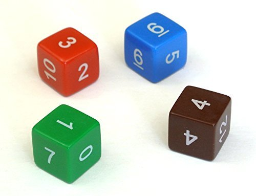 Non-Transitive Dice by MathArtFun