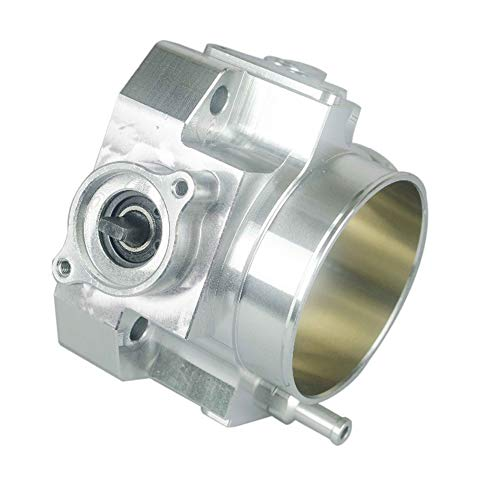 Throttle Body, Throttle Body for RSX DC5 CIVIC SI EP3 K20 K20A 70MM CNC Intake Throttle Body Performance,Silver: