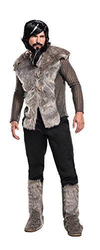 Rubie's Men's Zoolander 2 Derek Faux Fur Coat Costume, Multi, Standard -