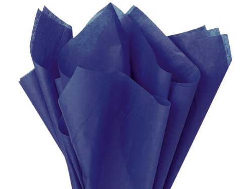 Dark Navy Blue Tissue Paper 48 Sheets - 20x26 by Premium Tissue Paper B00JCZD1G4