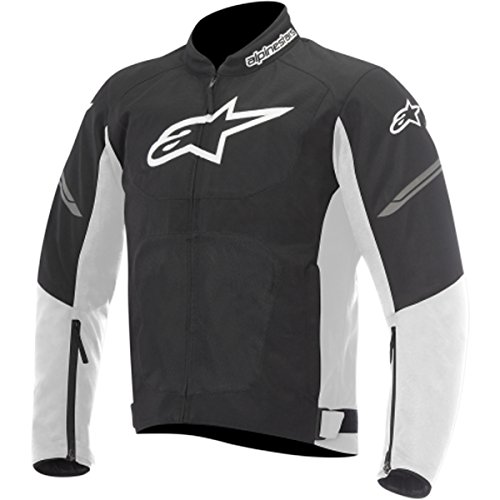 Alpinestars Viper Air Men's Street Motorcycle Jackets - Black/White / Large (Textile Jacket Air)