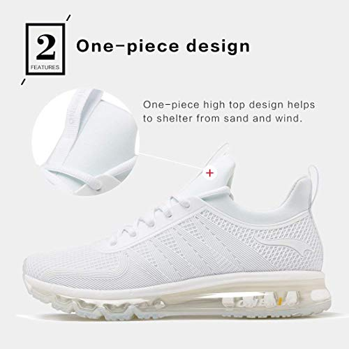 Women Onemix Trainers Men Sneaker Running Cushion Air Shoes White qpHtwrp