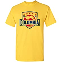 UGP Campus Apparel 2018 World Soccer Cup International Football Team Shield - T Shirt