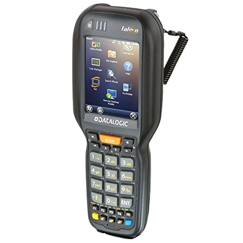Datalogic Scanning 945250076 Scanner, Falcon x3+ Pistol Grip, 802.11 A/B/g/N Ccx V4, Bluetooth V2.1, 256 MB Ram/1 Gb Flash