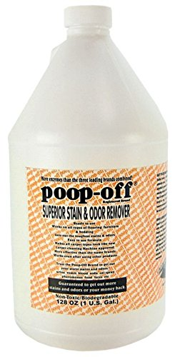 Poop-Off Superior Stain and Odor Remover Refill for Dogs and Puppies, - Poop Stain Removal