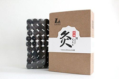 BOSO Living Smokeless 100% Pure Moxa Sticks Moxibustion Rolls 54/Box